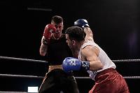 Sheffield Varsity Boxing 2017 Ali Foroughi Team Hallam v Rikki Webster Uni of Sheffield