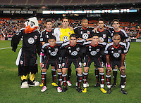 DC United starting eleven.  Toronto FC. defeated DC United 3-2 at RFK Stadium, October 23, 2010.