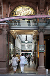 Entrance to the Argyll Shopping Arcade in Glasgow, Scotland