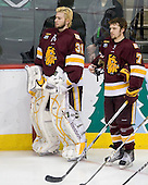 Aaron Crandall (Duluth - 31), Kyle Schmidt (Duluth - 7) - The University of Minnesota-Duluth Bulldogs defeated the University of Michigan Wolverines 3-2 (OT) to win the 2011 D1 National Championship on Saturday, April 9, 2011, at the Xcel Energy Center in St. Paul, Minnesota.