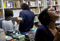 08/05/2008 Torino: XXI fiera internazionale del libro..Turin: International Book Fair