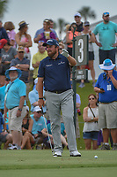 Shane Lowry (IRL) looks over his tee shot on 3 during round 3 of The Players Championship, TPC Sawgrass, at Ponte Vedra, Florida, USA. 5/12/2018.<br /> Picture: Golffile | Ken Murray<br /> <br /> <br /> All photo usage must carry mandatory copyright credit (&copy; Golffile | Ken Murray)