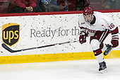 Ryan Donato (Harvard - 16) - The Harvard University Crimson tied the visiting Yale University Bulldogs 1-1 on Saturday, January 21, 2017, at the Bright-Landry Hockey Center in Boston, Massachusetts.