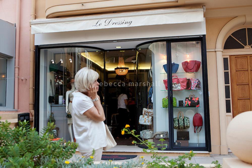 Boutique 'Le Dressing', Rue Princesse Florestine, La Condamine, Monaco, 5 July 2013