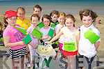 Listowel Brownies pictured at the Brownie Olympics event in Ballyheigue on Saturday, from left: Aoife Scanlon, Emily McCarthy, Laoise O?Sullivan-Murphy, Ciara O?Sullivan, Jennifer Kelly, Lucy O?Connor, Katie Keane, Katelyn Faley and Aideen Cronin..