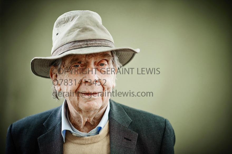 Larry Siedentop , writer  at Edinburgh International Book Festival  Literary Festival  2014 CREDIT Geraint Lewis