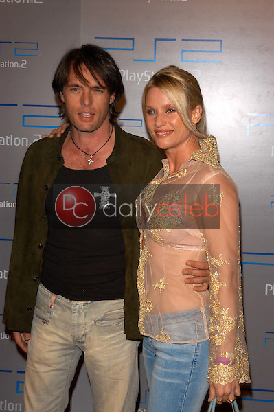 James Wilder and Nicolette Sheridan