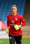 Simon Moore of Sheffield Utd during the English League One match at Glanford Park Stadium, Scunthorpe. Picture date: September 24th, 2016. Pic Simon Bellis/Sportimage