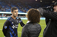 San Jose, CA - Saturday April 08, 2017: Chris Wondolowski  during a Major League Soccer (MLS) match between the San Jose Earthquakes and the Seattle Sounders FC at Avaya Stadium.