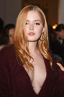 Ellie Bamber at the Jasper Conran Spring Summer 2018 show as part of London Fashion Week, London, UK. <br /> 16 September  2017<br /> Picture: Steve Vas/Featureflash/SilverHub 0208 004 5359 sales@silverhubmedia.com