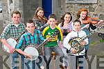 Chernobyl Children's Fund ConCert : Young musicians who took part  in a fund raising concert for the Chernobyl Childrens Fund at St. Johns Arts Centre in Listowel on Friday night last. Front : Dean Griffin, Kilcummin, Colm, Newcastlewest & Timmy Flaherty, Moyvane. Back: Ian sheehy, Abbeyfeale, Hiamh Healy, Abbeyfeale, Marie O'Connell, Abbeyfeale & Muireann Hickey, Mountcollins.
