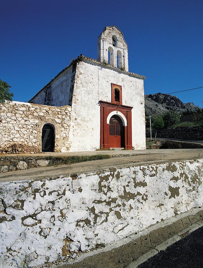 Quaint and pretty church in the Serrania de Ronda, southern Spai