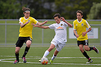 National Youth League - Phoenix Youth v Team Wellington Youth at Petone Memorial Park, Lower Hutt, New Zealand on Saturday 29 October 2016.<br /> Photo by Masanori Udagawa. <br /> www.photowellington.photoshelter.com.