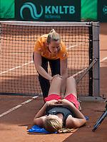 Hilversum, Netherlands, August 8, 2016, National Junior Championships, NJK, Fysio Annelies Geel  in action<br /> Photo: Tennisimages/Henk Koster