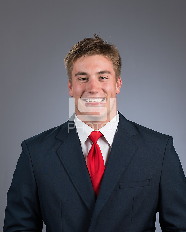STANFORD, CA - June 27, 2017: The 2017-2018 Stanford Cardinal Football Portraits