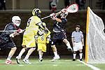 Orange, CA 02/28/09 -  Kevin Zorovich (Michigan #9) and Jason Kho (Chapman #8)