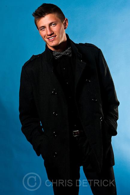 Chris Detrick  |  The Salt Lake Tribune.Eli Hall poses for a portrait Friday October 14, 2011.