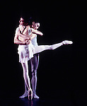 Ennglish National Ballet performing Three Preludes choreographed by Ben Stevenson. Tamara Rojo. Laurentiu Guinea