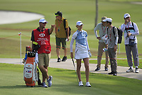 Nelly Korda (USA) in action on the 11th during Round 1 of the HSBC Womens Champions 2018 at Sentosa Golf Club on the Thursday 1st March 2018.<br /> Picture:  Thos Caffrey / www.golffile.ie<br /> <br /> All photo usage must carry mandatory copyright credit (&copy; Golffile | Thos Caffrey)