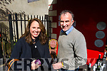 Sheree Adorjan and Stephen Wallace, pictured at the French Market Wine Tasting at the Dingle Food Fair on Saturday last.