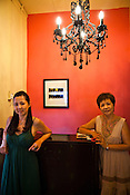 Restaurant owners of Mama's (Nyonya Cuisine), Maureen (left) and Ruby pose for a portrait in their restaurant in capital Georgetown of Penang, Malaysia. Photo: Sanjit Das/Panos