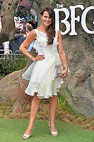 Lizzie Cundy attends the 'The BFG' UK Premiere at the Odeon Leicester Square in London, England. 17th July 2016.<br /> CAP/JWP<br /> &copy;JWP/Capital Pictures /MediaPunch ***NORTH AND SOUTH AMERICAS ONLY***