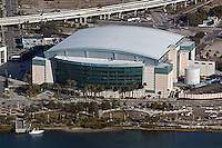 aerial photograph St Pete Times Forum Tampa, Florida