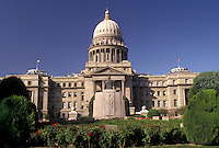 AJ3592, State Capitol, State House, Boise, Idaho, State Capitol Building in the capital city of Boise in the state of Idaho.