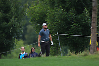 Zander Lombard (RSA) in the rough on the 5th during Round 3 of the D+D Real Czech Masters at the Albatross Golf Resort, Prague, Czech Rep. 02/09/2017<br /> Picture: Golffile | Thos Caffrey<br /> <br /> <br /> All photo usage must carry mandatory copyright credit     (&copy; Golffile | Thos Caffrey)