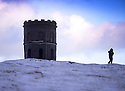 07/12/14<br /> <br /> The sun sets over a snowy landscape above Solomon's Temple at Grin Low above Buxton in the Derbyshire Peak District ahead of a night of further forecasted snow showers. <br /> <br /> ***ANY UK EDITORIAL PRINT USE WILL ATTRACT A MINIMUM FEE OF £130. THIS IS STRICTLY A MINIMUM. USUAL SPACE-RATES WILL APPLY TO IMAGES THAT WOULD NORMALLY ATTRACT A HIGHER FEE . PRICE FOR WEB USE WILL BE NEGOTIATED SEPARATELY***<br /> <br /> <br /> All Rights Reserved - F Stop Press. www.fstoppress.com. Tel: +44 (0)1335 300098