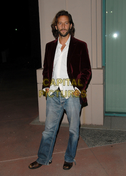 "HENRY IAN CUSICK.Attending The Academy of Television Arts & Sciences' ""An Evening with Lost"" held at The Leonard Goldenson Theater in North Hollywood, LA, California, USA,.January 13th 2007..full length beard.CAP/DVS.©Debbie VanStory/Capital Pictures"