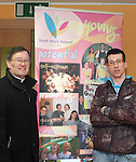 Canon James Carroll with Stephen Harrison from Youth Work Ireland at the Barbican Parish Centre Open Day...Photo NEWSFILE/Jenny Matthews.(Photo credit should read Jenny Matthews/NEWSFILE)....This Picture has been sent you under the condtions enclosed by:.Newsfile Ltd..The Studio,.Millmount Abbey,.Drogheda,.Co Meath..Ireland..Tel: +353(0)41-9871240.Fax: +353(0)41-9871260.GSM: +353(0)86-2500958.email: pictures@newsfile.ie.www.newsfile.ie.FTP: 193.120.102.198.