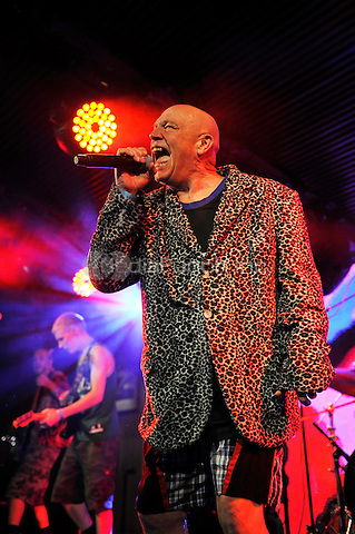 LONDON, ENGLAND - DECEMBER 16: Buster Bloodvessel(Douglas Trendle) of 'Bad Manners' performing at Under The Bridge on December 16, 2016 in London, England.<br /> CAP/MAR<br /> &copy;MAR/Capital Pictures /MediaPunch ***NORTH AND SOUTH AMERICAS ONLY***