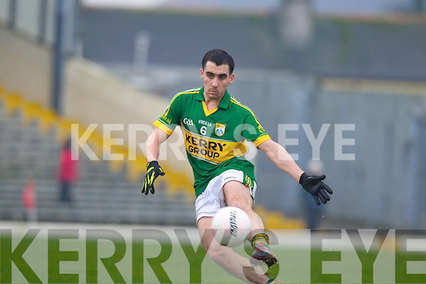 Jack Sherwood Kerry in action against  UCC in the Munster quarter final of the McGrath cup at Fitzgerald Stadium in Killarney on Sunday.