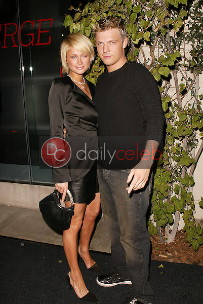 Paris Hilton and Nick Carter