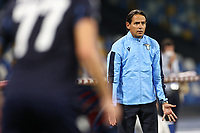 Simone Inzaghi coach of SS Lazio<br /> during the Serie A football match between SSC  Napoli and SS Lazio at stadio San Paolo in Naples ( Italy ), August 01st, 2020. Play resumes behind closed doors following the outbreak of the coronavirus disease. <br /> Photo Cesare Purini / Insidefoto