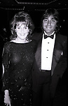 Lorna Luft and Jake Hooker attend ICAN Fundraiser Dinner on September 19, 1986 at the Beverly Hilton Hotel in Beverly Hills, California.