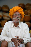 Indian Man, Sambhar, Rajasthan