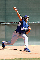 Nathan Eovaldi - Los Angeles Dodgers - 2009 spring training.Photo by:  Bill Mitchell/Four Seam Images