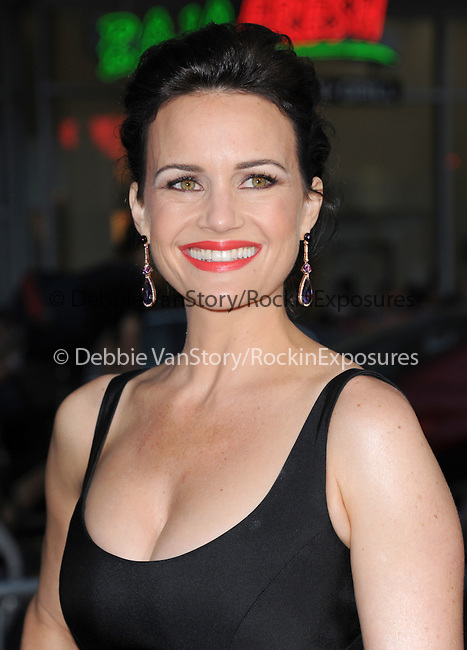 Carla Gugino attends The Paramount Pictures L.A. Premiere of Hercules held at The TCL Chinese Theatre in Hollywood, California on July 23,2014                                                                               © 2014 Hollywood Press Agency
