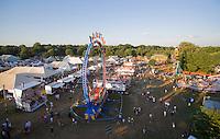 Amusement Rides, Burlington County Farm Fair, Lumberton, New Jersey