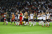 Siegesjubel Deutschland - 11.06.2019: Deutschland vs. Estland, OPEL Arena Mainz, EM-Qualifikation DISCLAIMER: DFB regulations prohibit any use of photographs as image sequences and/or quasi-video.