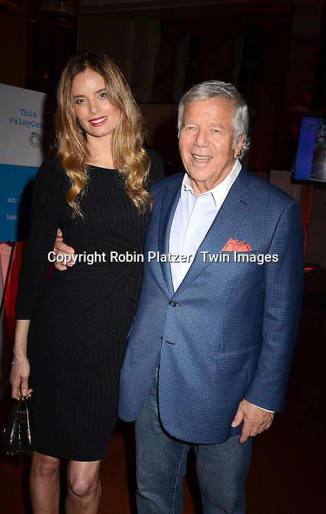 Ricki Lander and Robert Kraft attend The Paley Center for Media's Annual Benefit Dinner honoring ESPN' s 35th Anniversary on May 28, 2014 at 583 Park Avenue in New York City, NY, USA.