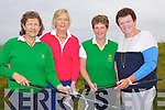 GOLF: Playing in the Lady President of Tralee Golf Club competition at Tralee Golf Club on Sunday, L-r: Margaret O'Shea, Nuala Dawson, Geraldine Reen (Lady Capt) and Mary Sheehy (Lady President).