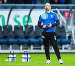 Solna 2015-10-04 Fotboll Allsvenskan AIK - Malm&ouml; FF :  <br /> Malm&ouml;s fystr&auml;nare Greger Andrijevski under uppv&auml;rmningen inf&ouml;r matchen mellan AIK och  Malm&ouml; FF <br /> (Foto: Kenta J&ouml;nsson) Nyckelord:  AIK Gnaget Friends Arena Allsvenskan Malm&ouml; MFF portr&auml;tt portrait