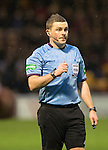 Motherwell v St Johnstone.....01.01.14   SPFL<br /> Referee John Beaton<br /> Picture by Graeme Hart.<br /> Copyright Perthshire Picture Agency<br /> Tel: 01738 623350  Mobile: 07990 594431