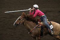 Alexis Powers of the 4-H group Blazing Saddles-NW Washington Fair. August 21, 2009 PHOTO BY MERYL SCHENKER .