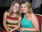 Heather Everitt and Marissa Godfrey pictured at Melissa Matthew's 21st birthday in the Star & Crescent. Photo: Colin Bell/pressphotos.ie