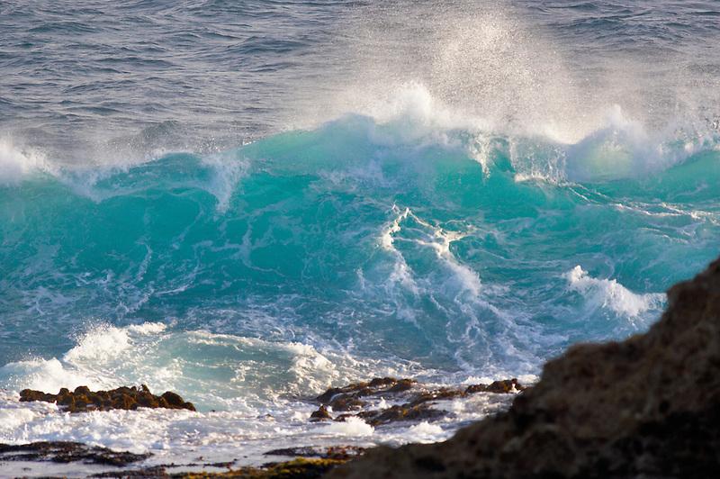 Large wave off coast near Mendoceno. California