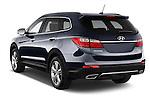 Car pictures of rear three quarter view of  a 2015 Hyundai Grand Santa Fe Executive 5 Door SUV angular rear